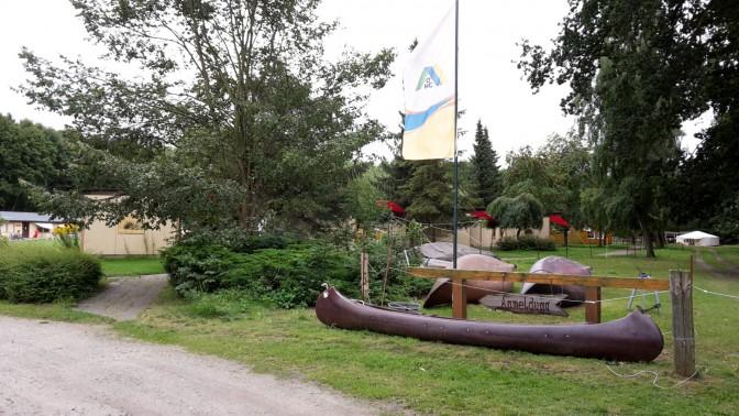 Schweriner See - Jugendherberge Flessenow