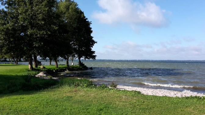 Schweriner See - Strand von Retgendorf