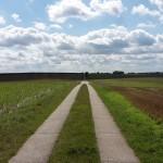 Schweriner See - Feldweg nach Döpe