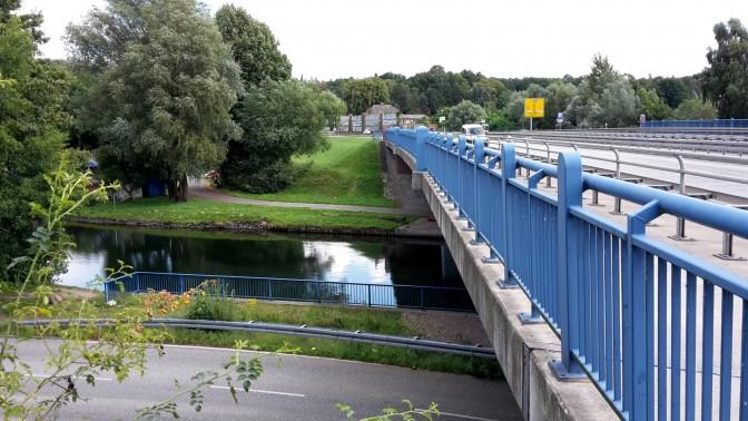 Schweriner See - Brücke über die Stör