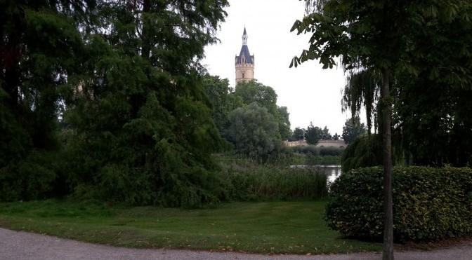 Blick auf Schweriner Schloss