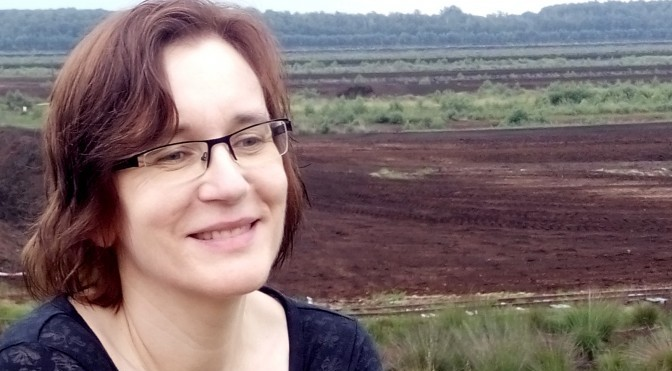 Liane Kwoll im Himmelmoor bei Quickborn