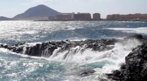 Faszinierend rau - der Atlantik bei El Medano