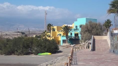 Die Palmen in El Medano wurden täglich künstlich bewässert.