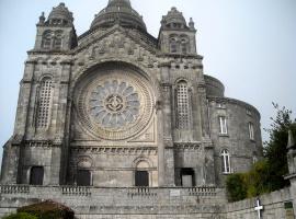 Ein spiritueller Ort für die Pilger auf dem Jakobsweg: die Wallfahrtskirche auf dem Monte Santa Luzia in Viana do Castello.